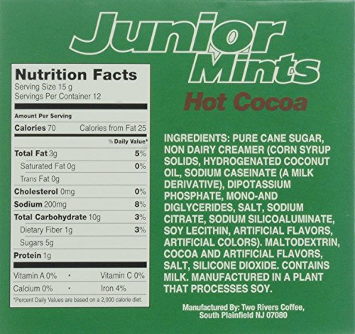 Junior Mint Single-Cup Hot Cocoa for Keurig K-Cup Brewers, 12 Count ...