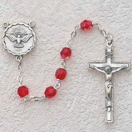 Confirmation Gift Catholic Rosary R262SF 6mm