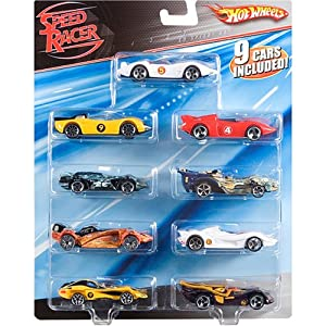 Mattel Speed Racer - Hot Wheels 9-Pack