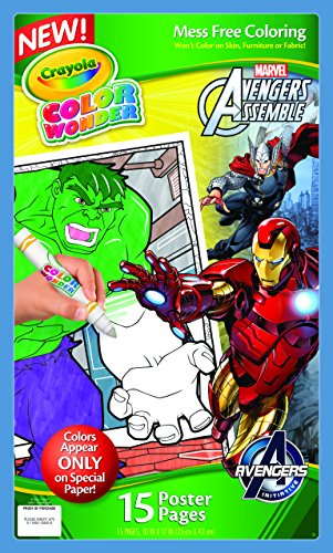 Crayola Color Wonder Poster Pages, Avengers