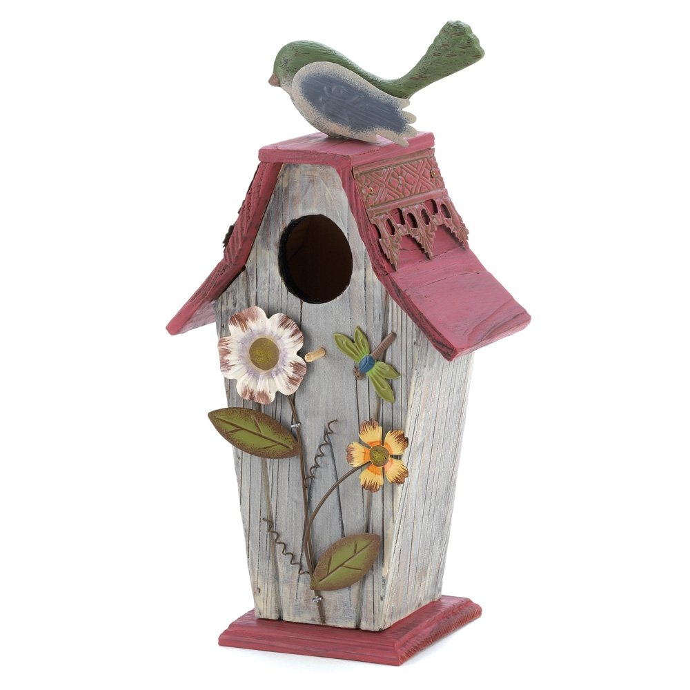 Cowboy Rooster Theme Birdhouse