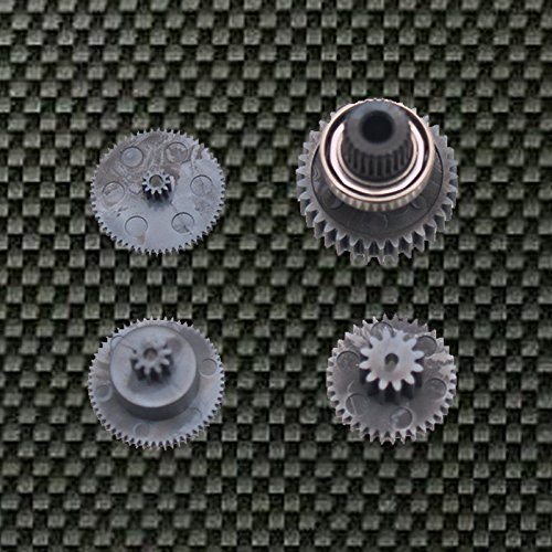 Graupner Gear Set for Servo DES 675, DES 657 - 1