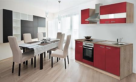 Respekta - Mueble de cocina (madera de roble y cerámica)
