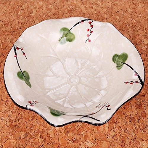 yifom-creative-garden-hand-painted-ceramic-bowl-wave-salad-bowl-dish-bowljiang-nanchun