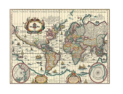 RCS Toys Educa Jigsaw Puzzle - Ancient Map of the World - 6000 pieces