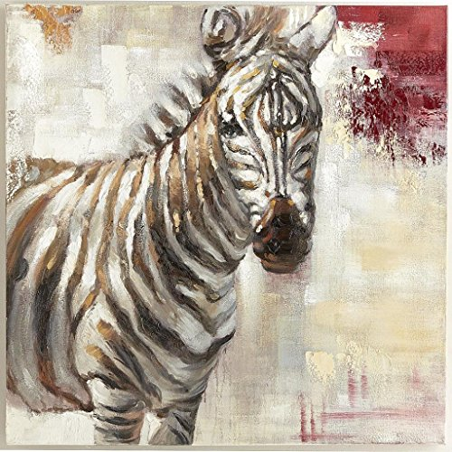 Art Paintin-Hazy Little Zebra 100% Hand Painted Modern Oil Painting On Canvas Wall Art Home Decoration Canvas Art Unframe Unstretch front-1078946