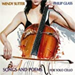 GLASS. Songs & Poems for Solo Cello....