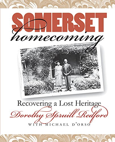 Somerset Homecoming: Recovering a Lost Heritage (Chapel Hill Books) Image