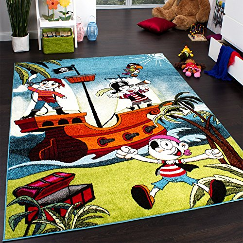 kids-rug-pirates-jolly-roger-multicoloured-turquoise-size80x150-cm