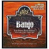 GHS PF170 Jeu de 5 cordes pour Banjo