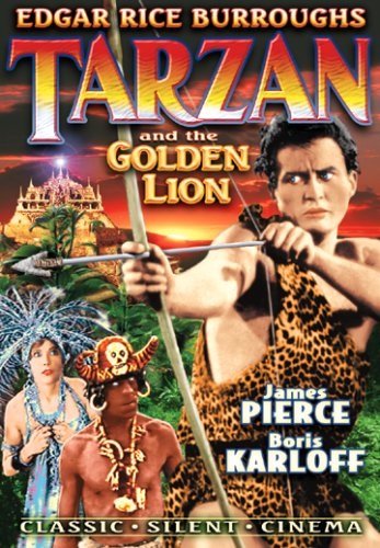 Tarzan & The Golden Lion [DVD] [1927] [Region 1] [US Import] [NTSC]