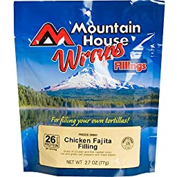 Mountain House, Chicken Fajita