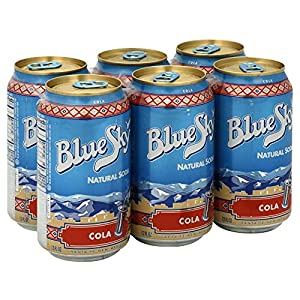Blue Sky Beverage Natural Cola Soda, 354 Milliliter -- 4 per case.
