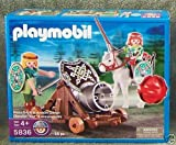 Playmobil Green Knight with Movable Cannon