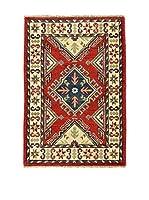 L'Eden del Tappeto Alfombra Uzebekistan Super Multicolor 61 x 89 cm