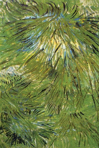Walls 360 Peel & Stick Wall Decals: Grass by Vincent Van Gogh (12 in x 18 in)