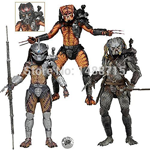 NECA Predators Series 12 Enforcer The Ultimate Alien Hunter Elder V2 Predator 7