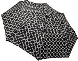 Totes  Signature Basic Auto Stick Umbrella, Metro Dot, One Size