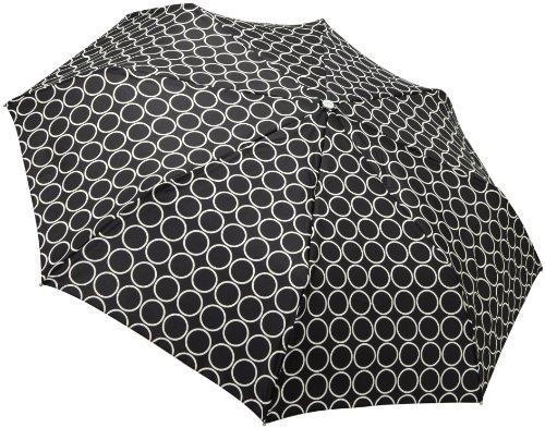 Totes Ladies Signature Basic Auto Stick Umbrella, Metro Dot, One Size