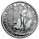 2016年製 ブリタニア銀貨 1オンス クリアケース入り イギリス王立造幣局発行 31.1gの純銀 高純度 地金型 シルバー コイン 保証書付き