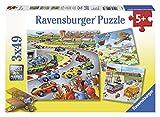 Ravensburger 09273 - Alles unterwegs - 3x 49 Teile Puzzle