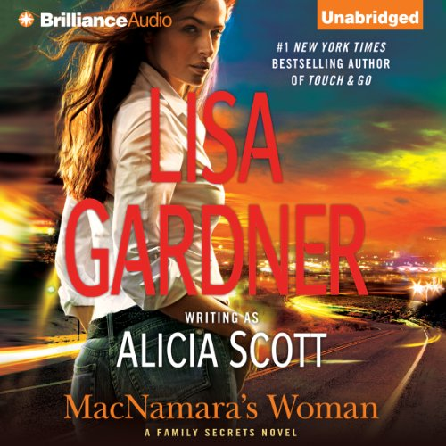 Lisa Gardner MacNAMARA'S WOMAN Unabridged MP3-CD *NEW* FAST 1st Class Ship!