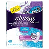 Always Discreet Incontinence Pads, Maximum Absorbency - 48 ct