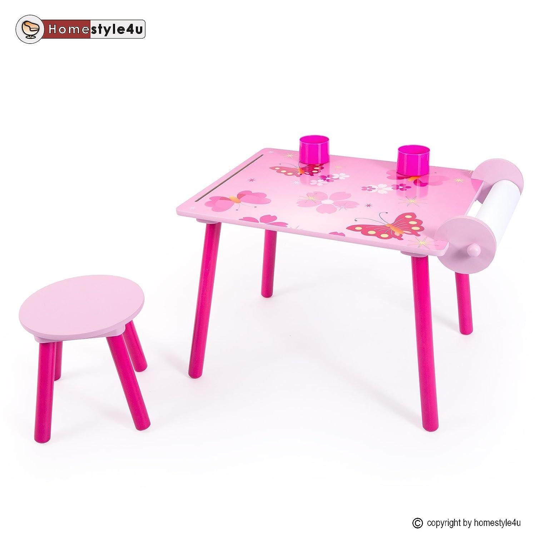 Homestyle4u Kindermaltisch Zeichentisch Kinder Tisch Stuhl Spieltisch Kindertisch Maltisch bestellen
