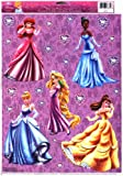 Disney Princesses Valentine's Day Window Clings