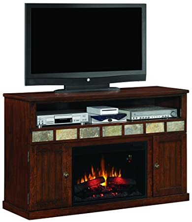 """Margate traditional style with modern convenience Media TV stand for TVs up to 62"""" (Electric Fireplace Insert sold separately)"""