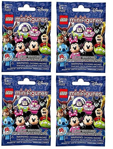 LEGO-Disney-Minifigures-Bundle-Set-of-4-71012