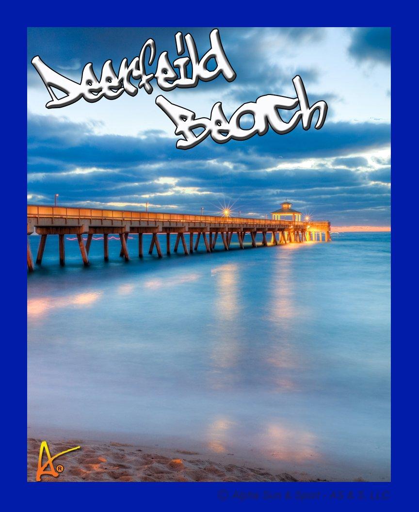 Deerfield Beach Souvenir Patch