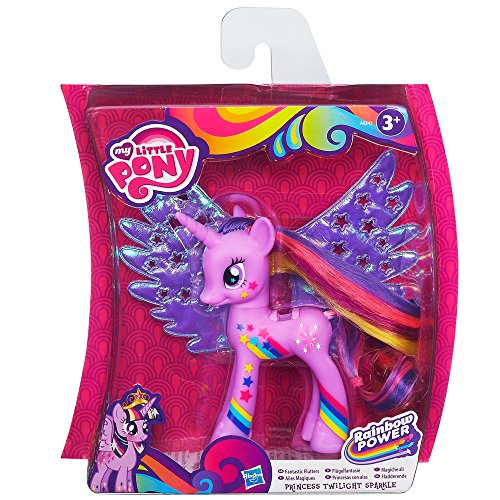 Hasbro A9975E24 - My Little Pony mit zauberhaften Flügeln Regenbogen Twilight Sparkle