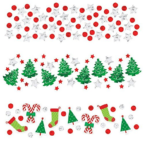 Amscan International 360144 confettis de Noël 34 g valeur Pack
