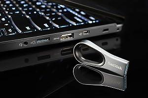 SanDisk 128GB Ultra Loop USB 3.0 Flash Drive - SDCZ93-128G-G46
