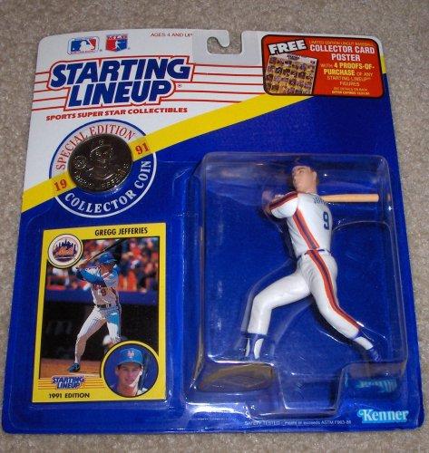 Gregg Jefferies 1991 MLB Starting Lineup