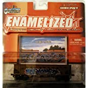 Enamelized Graffiti Diecast Train Collection-Delaware