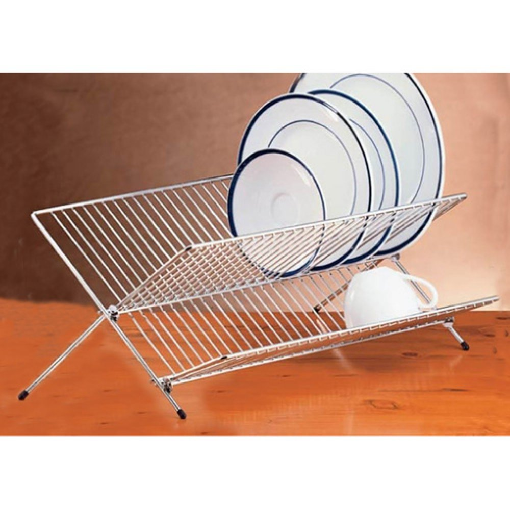 все цены на Creative Home Chrome Works Folding Dish Rack онлайн