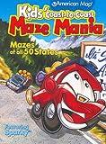 Kids' Coast-To-Coast Maze Mania: Mazes of All 50 States