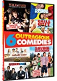 Outrageous Comedies - 6 Movie Set - Walk Hard: The Dewey Cox Story - The Brothers Solomon - Balls Out - Just Add Water - American Crude - Saving Silverman