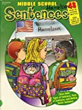 img - for Sentences : Types of Sentences, Parts of Sentences, Writing Better Sentences : Middle School Collection book / textbook / text book