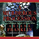 A Murderous Procession: A Mistress of the Art of Death Novel (       UNABRIDGED) by Ariana Franklin Narrated by Jill Tanner