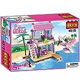 #10: Saffire Dream Girls Beach Villa Building Set , Multi Color (423 Count)