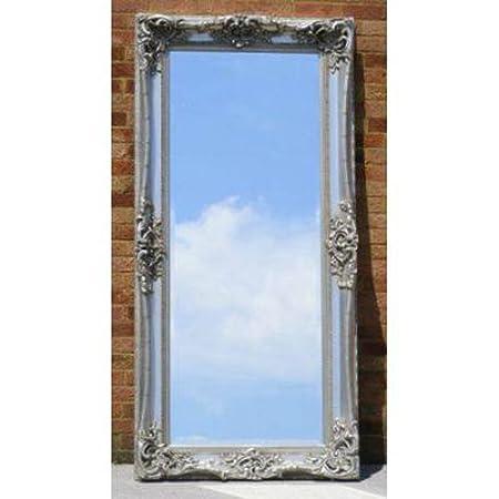 Long Silver Gilt Monaco Mirror (7ft x 3ft)