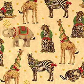Vintage Christmas Wrapping Paper