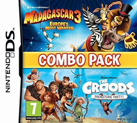 Madagascar 3/The Croods Double Pack (Nintendo DS)