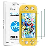 OMOTON [3 Pack] Tempered Glass Screen Protector for Nintendo Switch Lite(2019), Scratch Resistant/High Definition Screen Protector Compatible with Nintendo Switch Lite(2019)