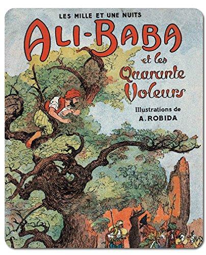 albert-robida-tapis-de-souris-ali-baba-et-les-quarante-voleurs-23-x-19-cm