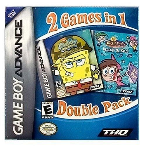 Spongebob Squarepants Battle For Bikini Bottom / Fairly Oddparents Breakin Da Rules Value Pack front-1011650