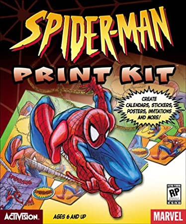 Spider-Man Print Kit